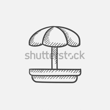 Playground sketch icon. Stock photo © RAStudio