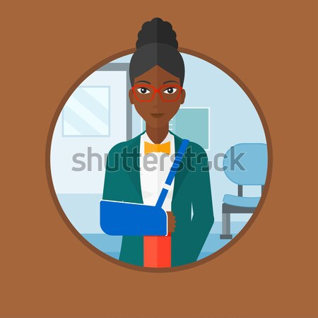 Man giving resume vector illustration. Stock photo © RAStudio