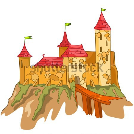Cartoon Castle Stock photo © RAStudio