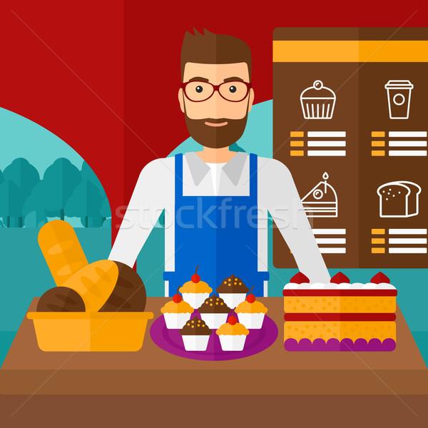 Successful small business owner. Stock photo © RAStudio
