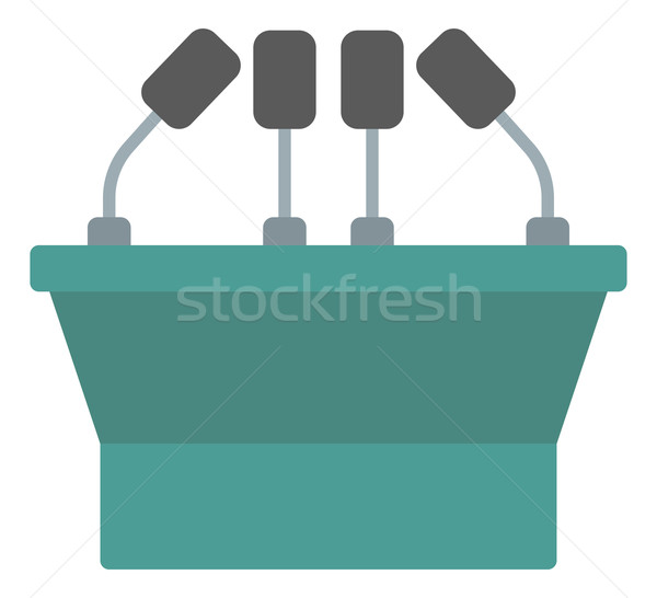 セミナー 音声 表彰台 ベクトル デザイン 実例 ストックフォト © RAStudio