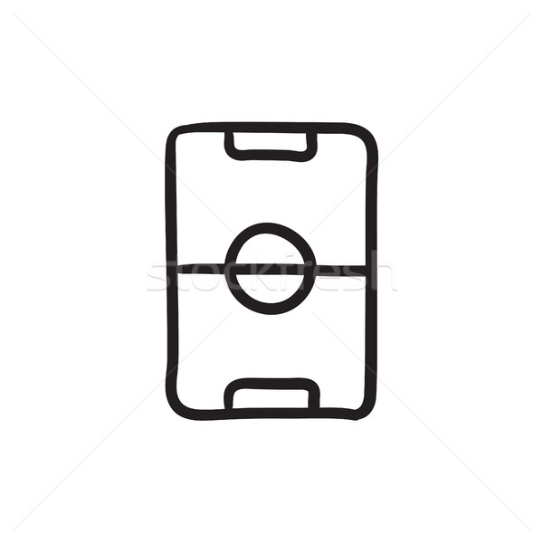 Stadium layout sketch icon. Stock photo © RAStudio