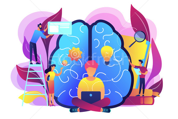 Business intelligence concept vector illustration. Stock photo © RAStudio