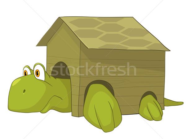 Stock photo: Cartoon Character Turtle