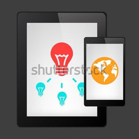 Vector Bulb Stock photo © RAStudio