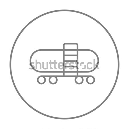 Railway cistern line icon. Stock photo © RAStudio
