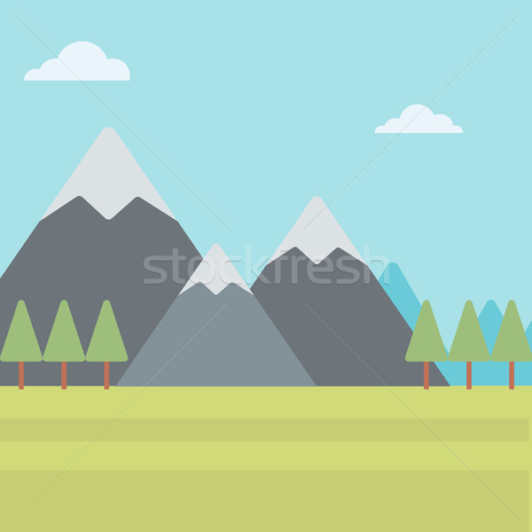 Background of mountain landscape. Stock photo © RAStudio