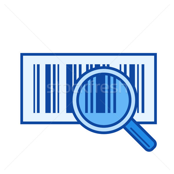 Bar code line icon. Stock photo © RAStudio