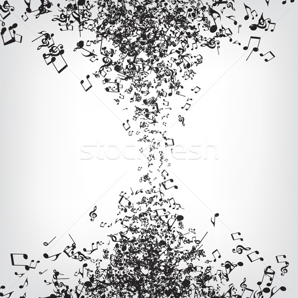 Music Notes Texture Stock photo © RAStudio