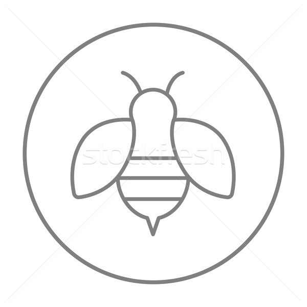 Bee line icon. Stock photo © RAStudio