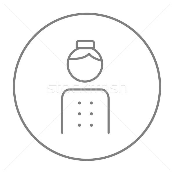 Bellboy line icon. Stock photo © RAStudio