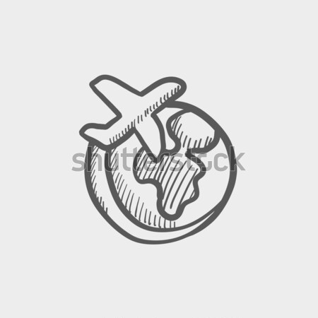 Heart sketch icon. Stock photo © RAStudio