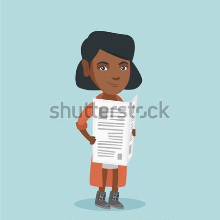 Agent immobilier contrat maison hypothèque Photo stock © RAStudio