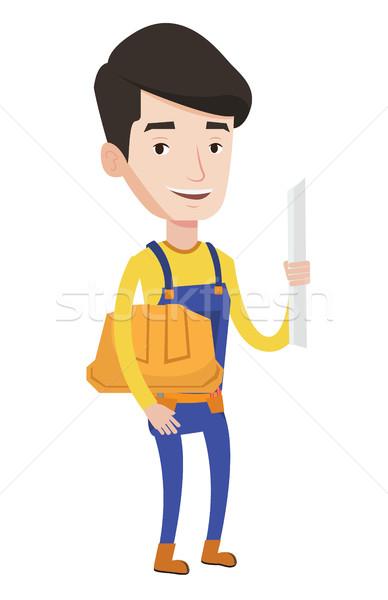 Ingeniero plan jóvenes amistoso Foto stock © RAStudio