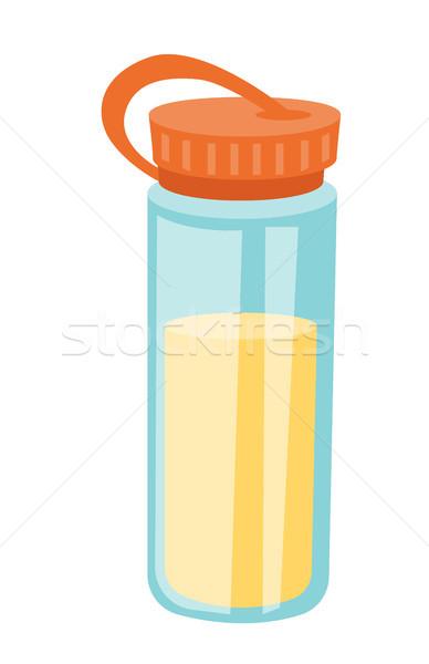 Proteína vector Cartoon ilustración plástico Foto stock © RAStudio
