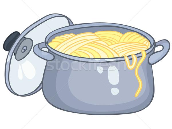Cartoon Home Kitchen Pot Stock photo © RAStudio