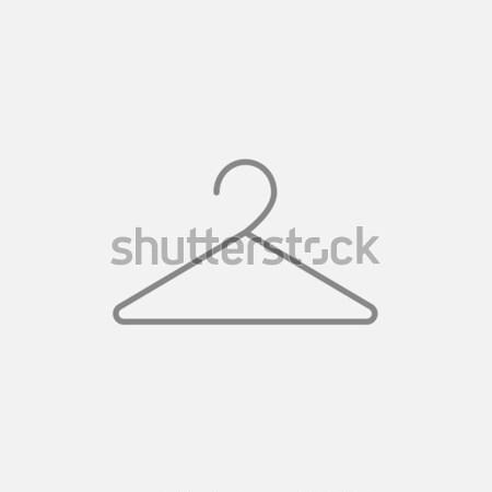 ハンガー 行 アイコン コーナー ウェブ 携帯 ストックフォト © RAStudio