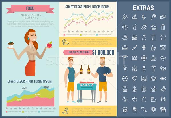 Infographic food ingredients