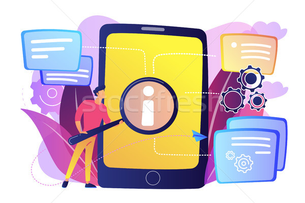 User guide concept vector illustration. Stock photo © RAStudio