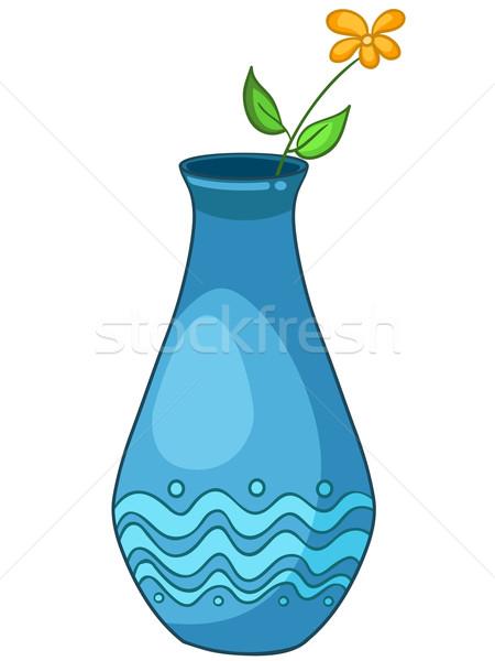 Cartoon Home Vase Vector Illustration Andrei Krauchuk Rastudio