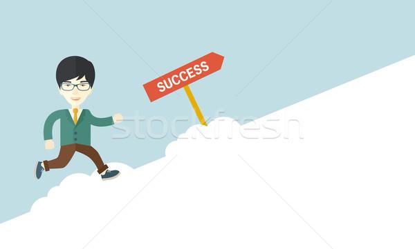 Successful businessman Stock photo © RAStudio