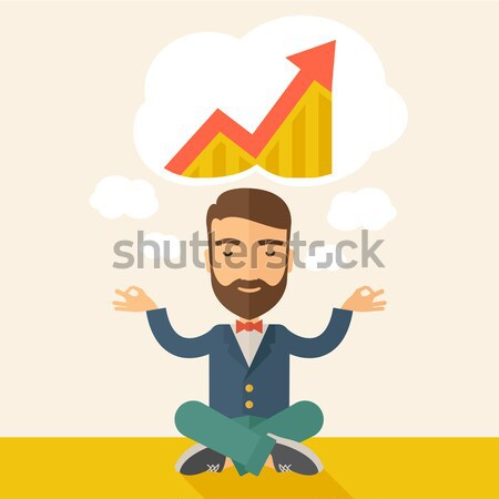 Businessman get the idea Stock photo © RAStudio