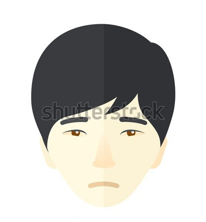 Jovem deprimido homem vetor projeto ilustração Foto stock © RAStudio
