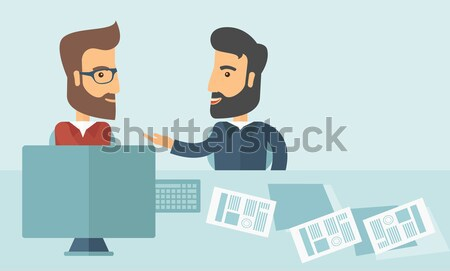 Business deal Stock photo © RAStudio