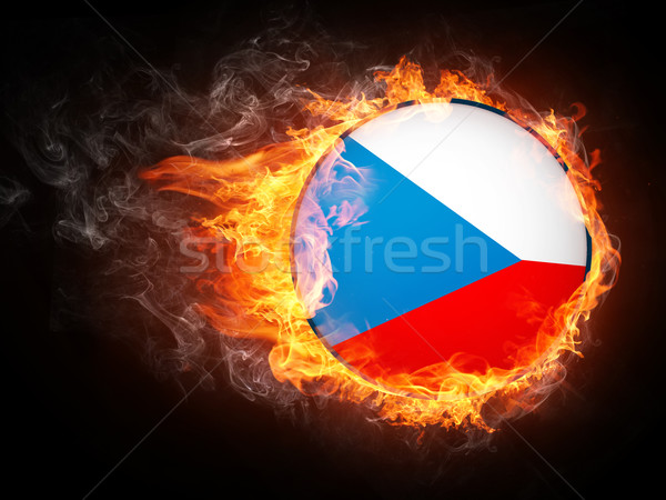 Czech Republic Flag Stock photo © RAStudio