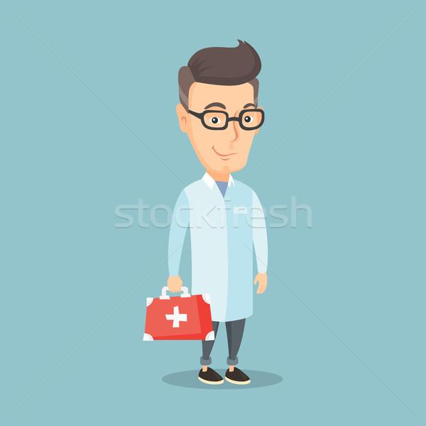 Lekarza pierwsza pomoc polu medycznych Zdjęcia stock © RAStudio