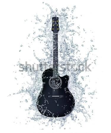 Acoustic Guitar Stock photo © RAStudio