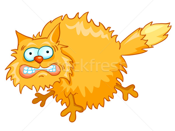 Cartoon Character Cat Stock photo © RAStudio
