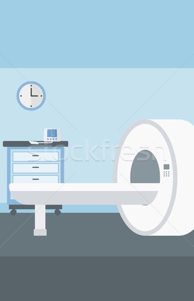 Ospedale stanza mri macchina vettore design Foto d'archivio © RAStudio