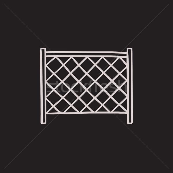 Sports nets sketch icon. Stock photo © RAStudio