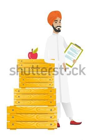 農家 クリップボード 親指 アップ ビジネス ストックフォト © RAStudio