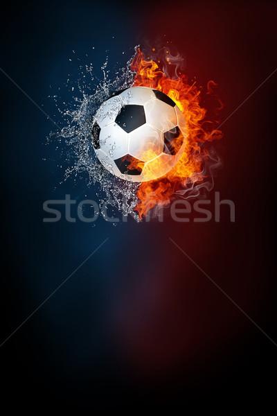 Fútbol deportes torneo moderna anunciante plantilla Foto stock © RAStudio