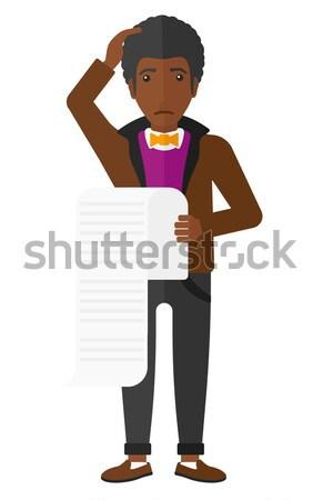 Man with camera on chest. Stock photo © RAStudio