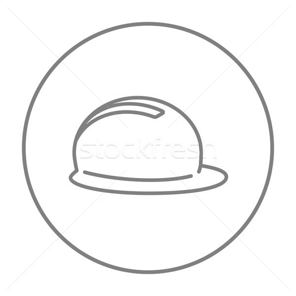 Stok fotoğraf: Hat · ikon · web · hareketli · infographics