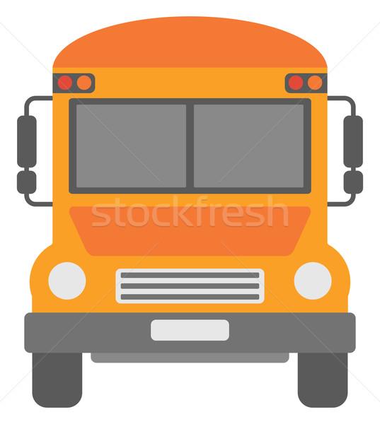 Yellow school bus. Stock photo © RAStudio