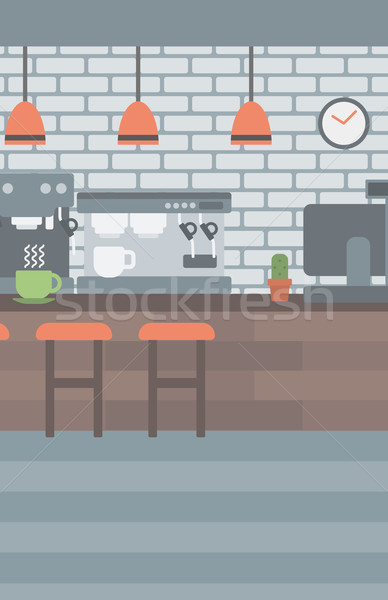 Background of coffee house. Stock photo © RAStudio