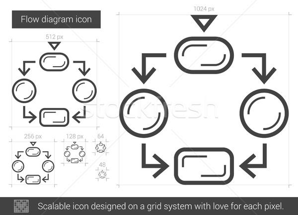 diagramm  u00b7 line  u00b7 symbol  u00b7 vektor  u00b7 isoliert