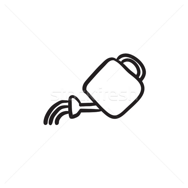 Watering can sketch icon. Stock photo © RAStudio