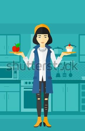 Supérieurs chef Cook délicieux Photo stock © RAStudio