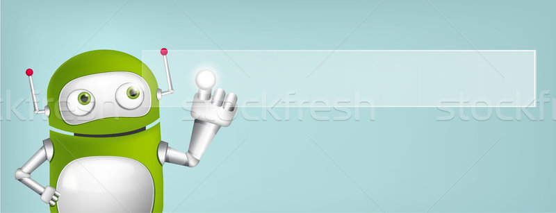 Green Robot Stock photo © RAStudio