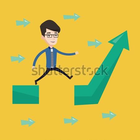 Hombre manera empresario alternativa elección Foto stock © RAStudio
