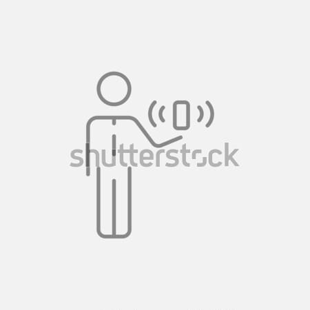 Mobility line icon. Stock photo © RAStudio
