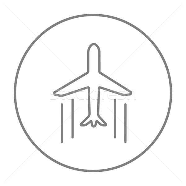 Cargo plane line icon. Stock photo © RAStudio