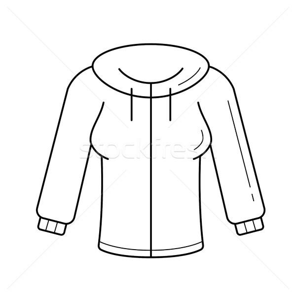Jersey vector line icon. Stock photo © RAStudio
