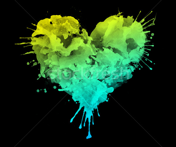 Watercolor Heart Stock photo © RAStudio