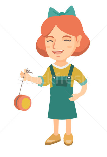Zdjęcia stock: Dziewczyna · gry · dziewczynka · zabawki